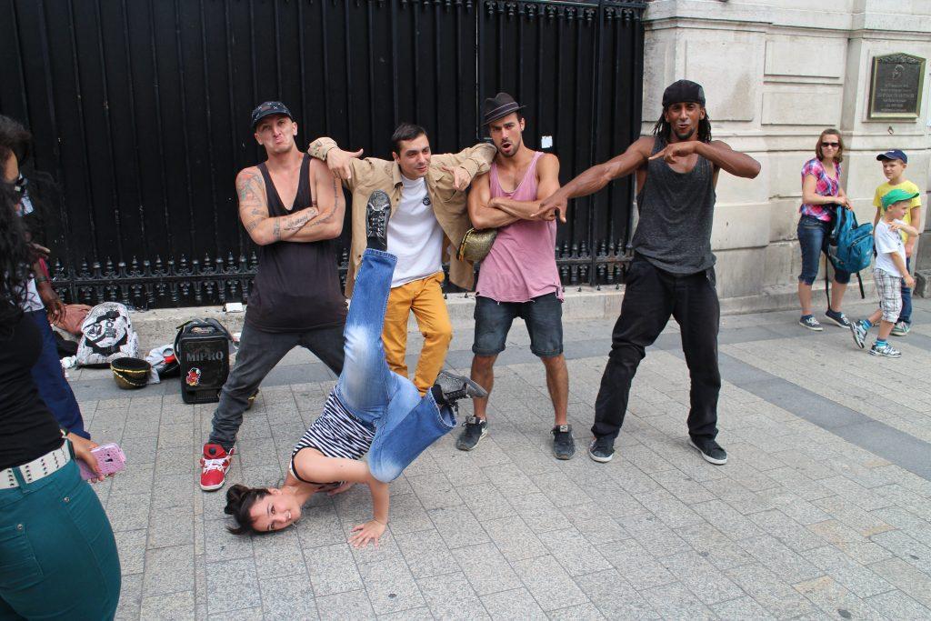 Ramona Kunze Breakdance
